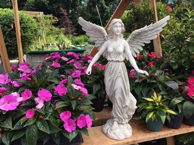 Have you considered putting a small statue in your garden?
